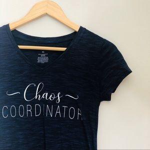 Cowl Neck Chaos Coordinator Sweatshirt